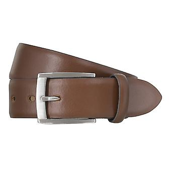 LLOYD Men's belt belts men's belts leather belt brandy 1830