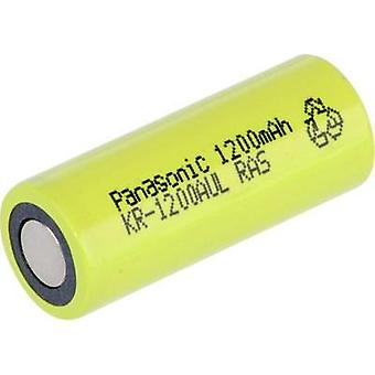 Non-standard battery (rechargeable) 4/5 A Flat top NiCd Panasonic S1.2/KR1200AUL 1.2 V 1200 mAh