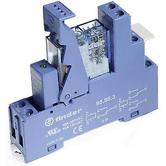 Finder 49.52.9.024.0050 Relay Interface Module 2 changeovers 24 V/DC IP20