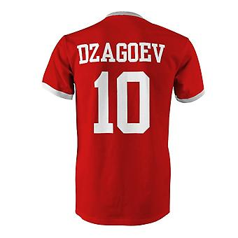 Alan Dzagoev 10 Russia Country Ringer T-Shirt