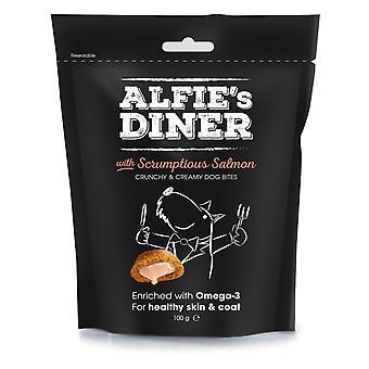 Alfie's Diner laks behandler 100g (pakke med 10)