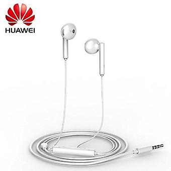 Genuine Huawei AM115 3.5mm Handsfree Earphones with Remote and Microphone for Huawei Mate7 - White (Bulk, Frustration Free Packaging)