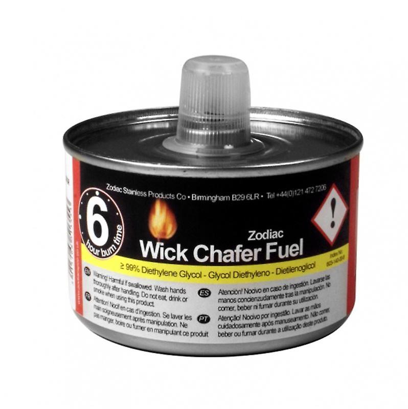 Wick Liquid Chafing Tin Fuel Lasts Upto 6hrs