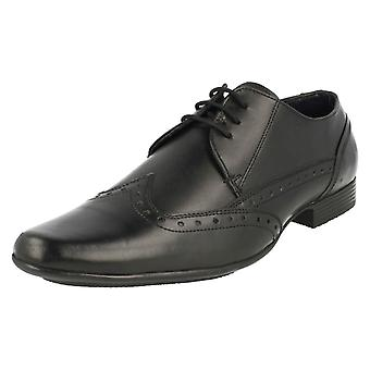 Mens Lambretta Formal Lace Up Brogue Shoes Bradley