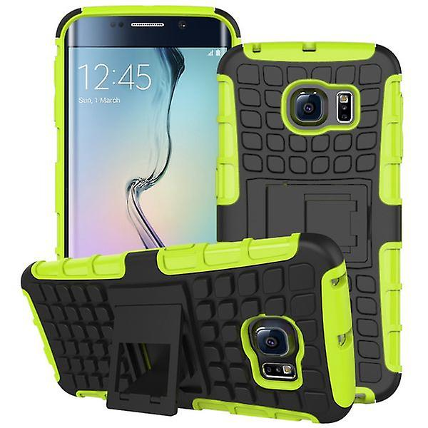Hybrid case 2 piece SWL robot green for Samsung Galaxy S6 edge G925 G925F