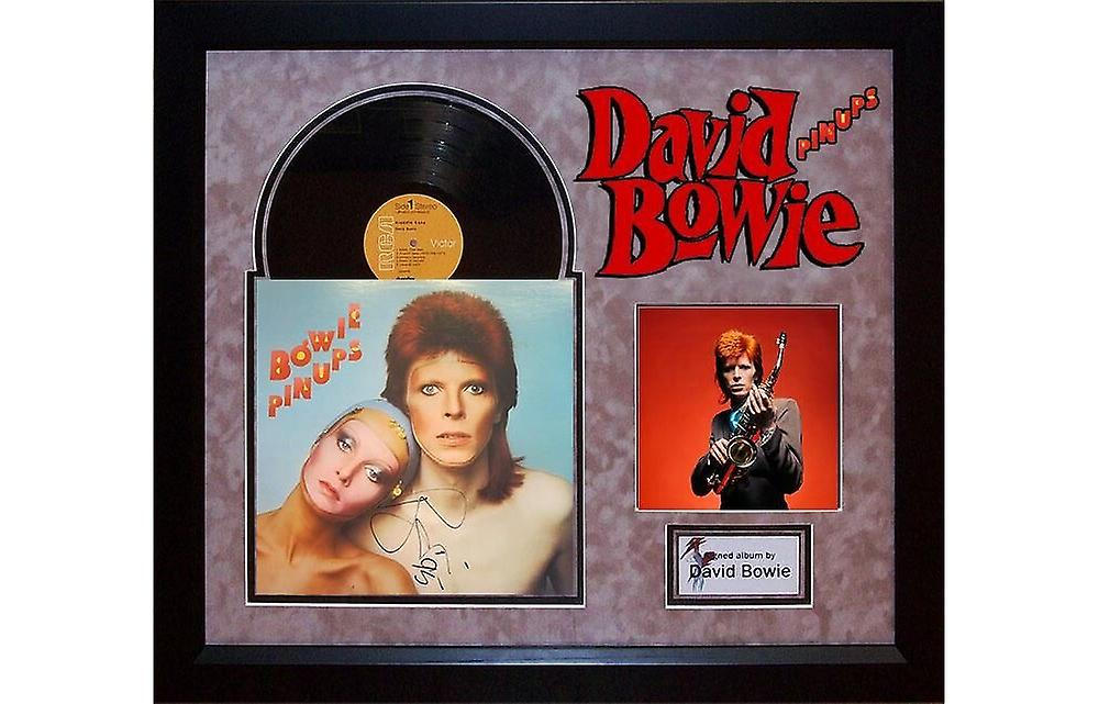 David Bowie - pin-ups - signé Album