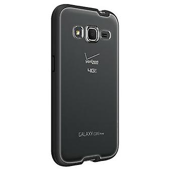 Verizon Shell Case for Samsung Galaxy Core Prime - clair avec bordure noire