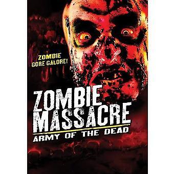 Zombie massakren: Hær af døde [DVD] USA importerer
