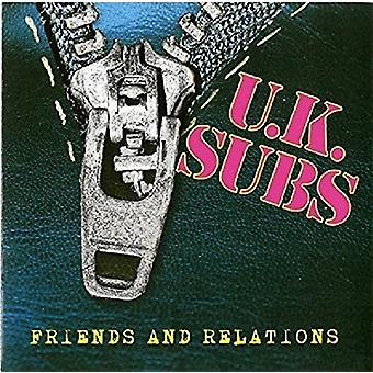 Uk Subs - Friends & Relations [Vinyl] USA import