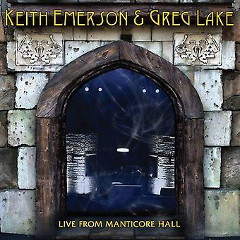 Emerson, lago de Keith, Greg - importación de Estados Unidos Live de Manticore Hall [CD]
