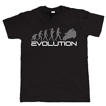 Evolution Of A Biker, Mens Funny T-Shirt