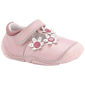 Hush Puppies Girls Ruby Pre-walkers Pale Pink F Fitting