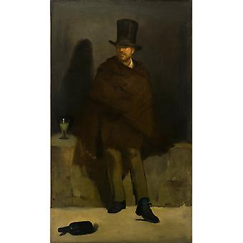Edouard Manet - The Absinthe Drinker Poster Print Giclee