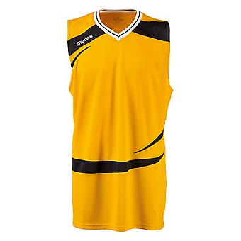 SPALDING basketball training logo tank top [yellow]