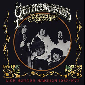 Quicksilver Messenger Service - Live tværs over Amerika 1967-1977 [CD] USA import