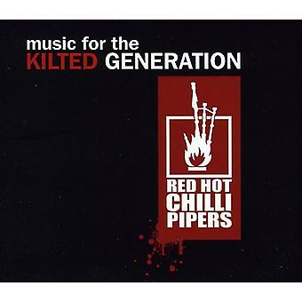 Red Hot Chili Pipers - musik for Kilted Generation [CD] USA importen
