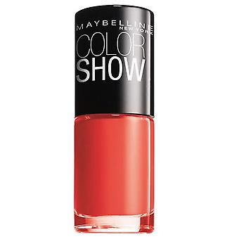 Maybelline 110 ColorShow Urban Coral (Vrouwen , Make-up , Nagelverzorging , Emaille)