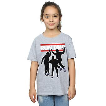 Run DMC Girls Sihouette Jump T-Shirt