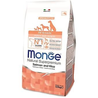 Monge NS Puppy  Salmon and Rice (Dogs , Dog Food , Dry Food)