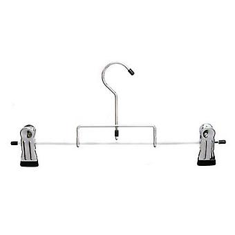 Caraselle Chrome Plated Heavy Duty Kilt Hanger w. Extra Strong Clips