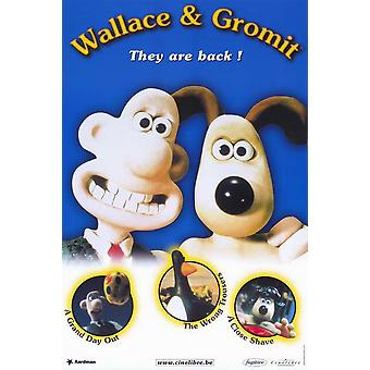 Wallace & Gromit The Best of Aardman Animation Movie Poster (11 x 17)