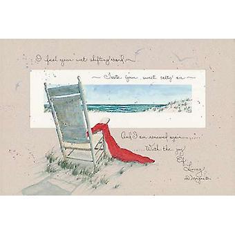 Alegría de la vida cartel impresión por D Morgan (18 x 12)
