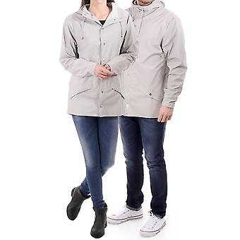 Rains Unisex Waterproof Jacket With Full Zip