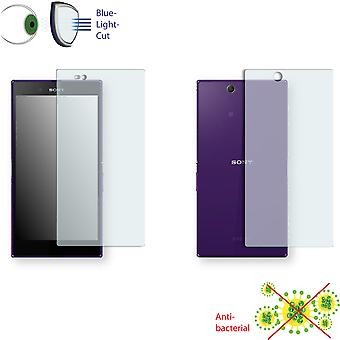 Sony Xperia C6802 front + back screen protector - Disagu ClearScreen protector (1 front / 1 rear)