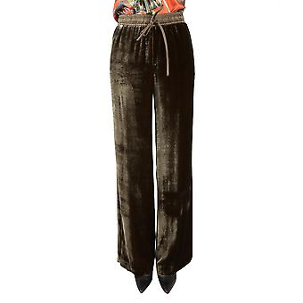 P.A.R.O.S.H. ladies ROXETTED230229007 green rayon pants