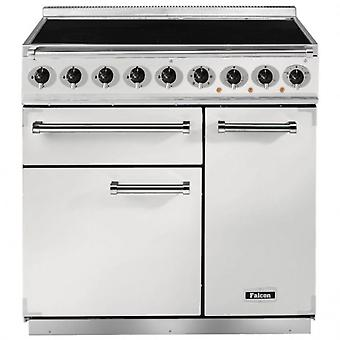 FALCON F900DXEIWHN 82430 - 90cm Deluxe Induction Range Cooker, White