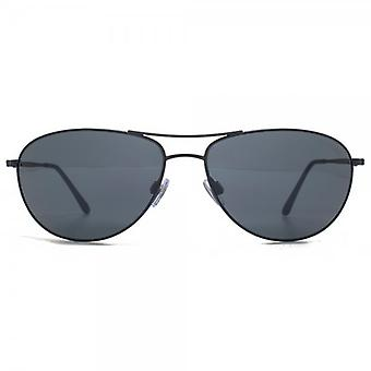 Giorgio Armani Frames Of Life Classic Pilot Sunglasses In Blue