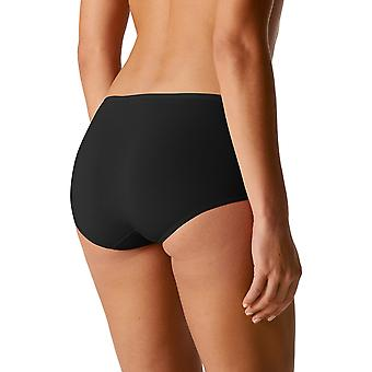 Mey 29817-3 Women's Organic Black Solid Colour Knickers Panty Brief