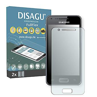 Samsung I9070 Galaxy S advance display protector - DISAGU FullFlex protector