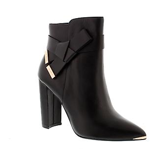 Ted Baker Remadi - Black Leather Womens Boots