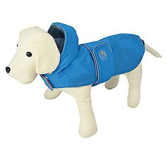 Nayeco Raincoat Dog Dancing Rain Blue 70 cm