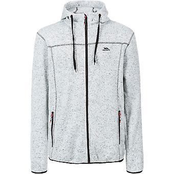 Trespass Mens Odeno Knitted Full Zip Airtrap Fleece Jacket