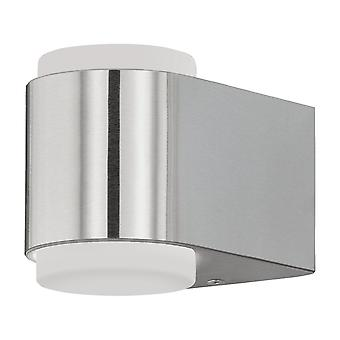 Eglo Al LED Wall Light/2 Stainless Briones