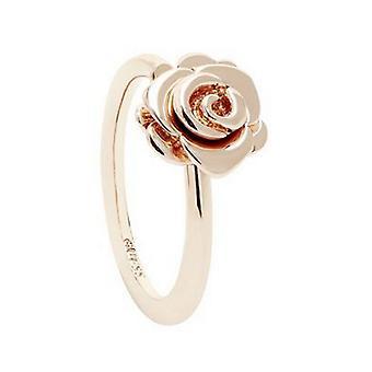 Gissa damer ring rostfritt stål ökade Rosé guld UBR28506