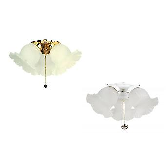 Fantasia ceiling fan light kit Etched