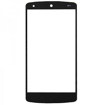 Visa glas, glas svart för Motorola Google nexus 5