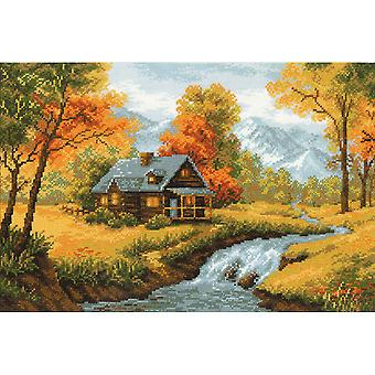 Autumn View Counted Cross Stitch Kit-15