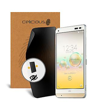Celicious Privacy 2-Way Anti-Spy Filter Screen Protector Film Compatible with Kyocera Digno F