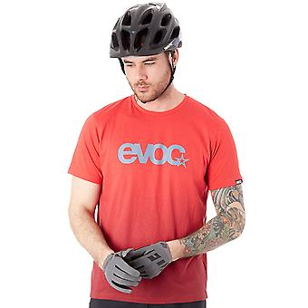 Evoc Red Dry Short Sleeved MTB Jersey