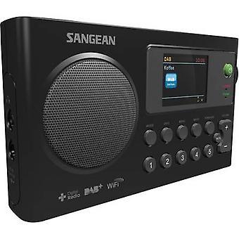 Sangean WFR-27 C Internet Portable radio DAB+, Internet radio, FM Battery charger Black
