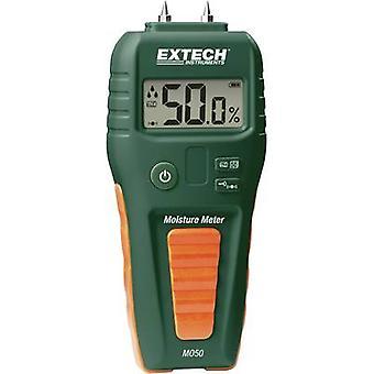 Extech MO50 Moisture meter Measuring range building moisture 1.5 up to 33 vol % Measuring range Wood moisture 5 up to 50 vol %