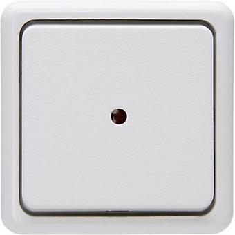 Kopp Control switch, Toggle switch, Circuit breaker Standard surface-mount Arctic white 514602006