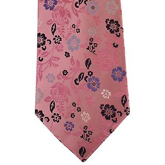 Posh and Dandy Floral Tie - Pink