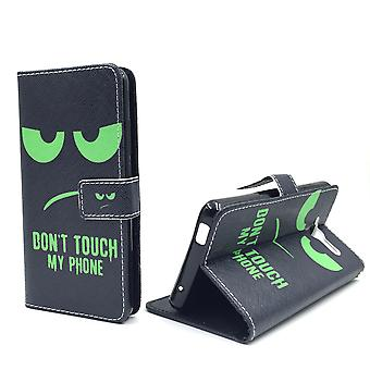 Mobile phone case pouch for mobile ZTE blade L3 dont touch green