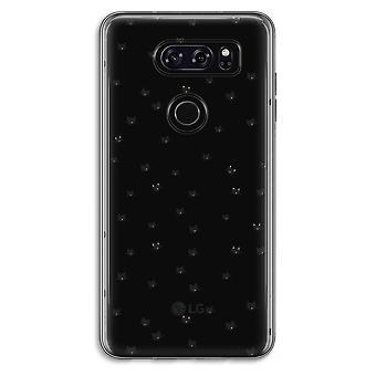 LG V30 Transparent Case (Soft) - Little cats