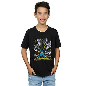 Marvel Boys Thanos Ships T-Shirt